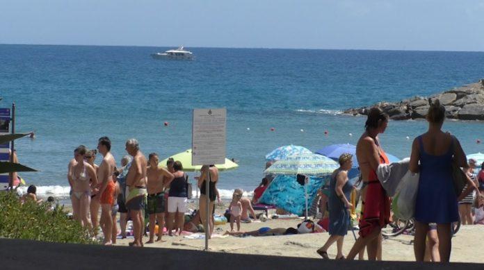 san lorenzo al mare spiaggia