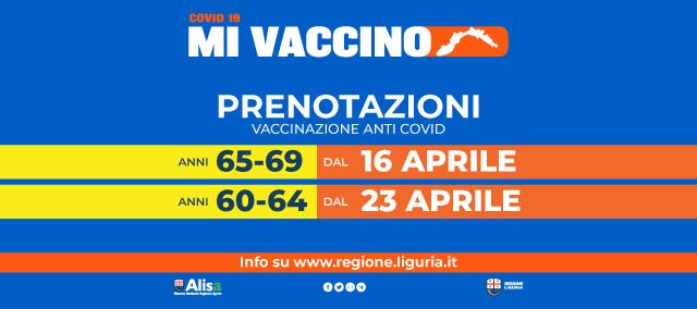 Campagna vaccini Liguria