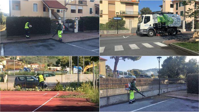 pulizia strade san bartolomeo