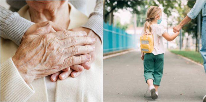 anziani - bambini
